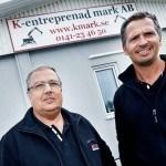 Inge och Richard Jacobsson - K-entreprenad mark AB