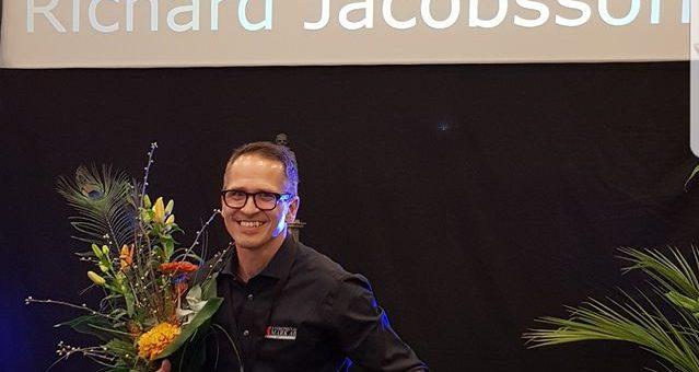 Richard Jacobsson – vår VD – ÅRETS FÖRETAGARE 2018 !!!
